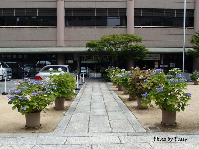 坐摩神社社務所 大阪府神社庁