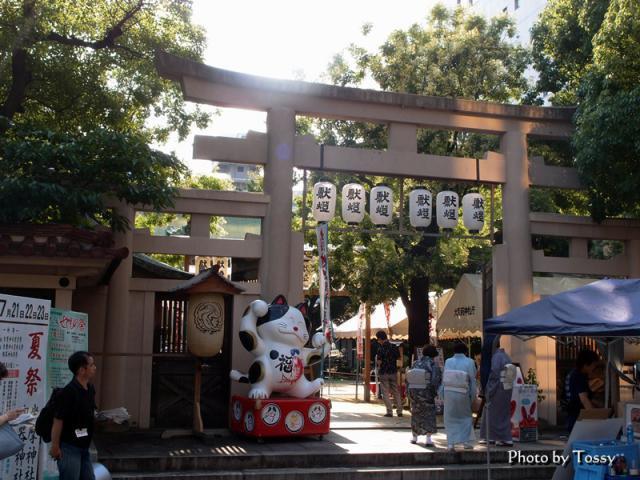 坐摩神社 夏祭り