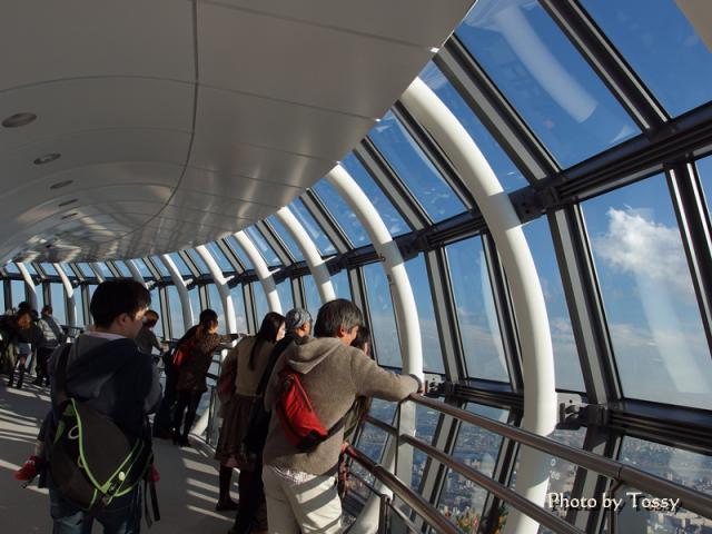 地上450m 天望回廊