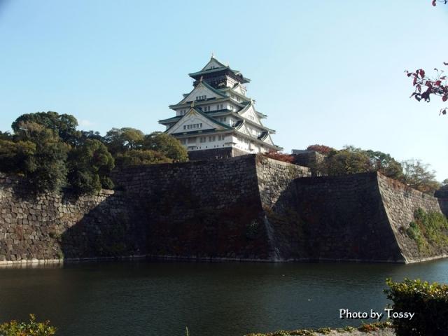 大阪城天守閣 堀