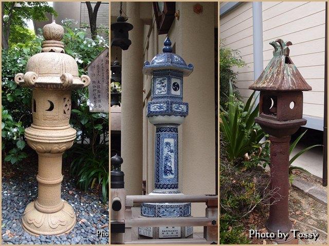 坐摩神社 灯篭