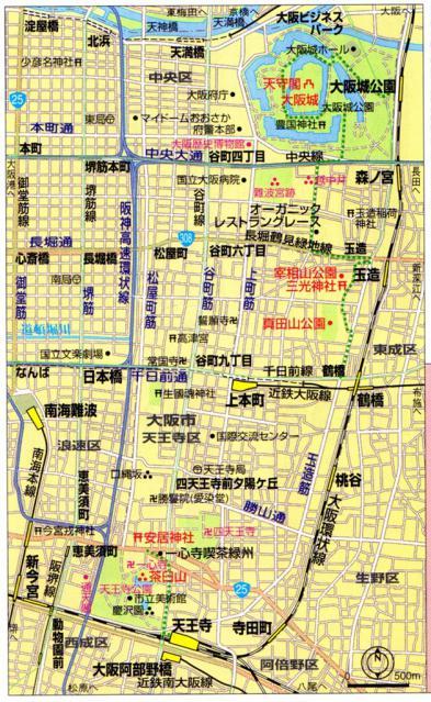 大坂の陣 MAP