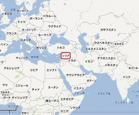 シリア地図450