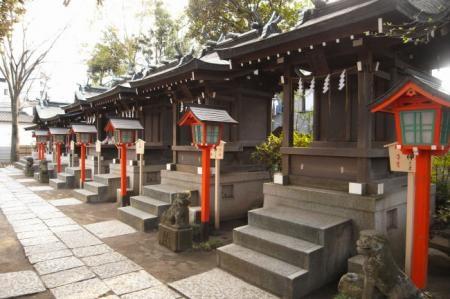千葉神社の境内末社