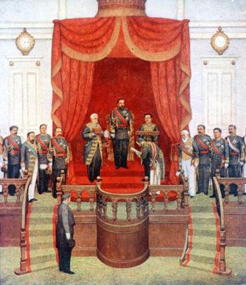 第一回帝国議会開院式B