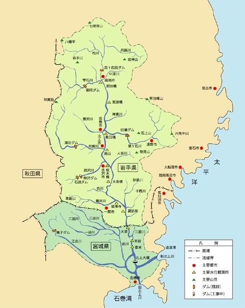 北上川 図