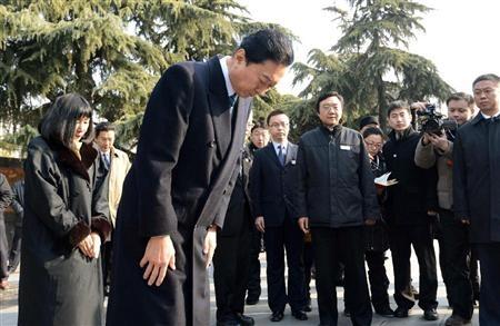 南京の鳩山由紀夫