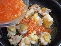鶏もも肉 ホットソース仕立て06
