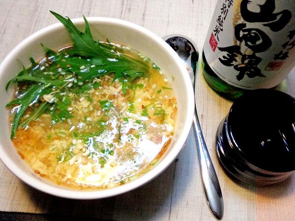 卵スープ09
