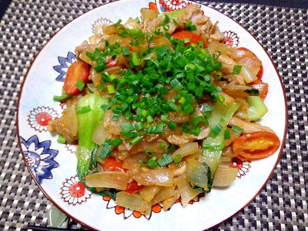 味噌野菜炒め01