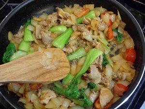 味噌野菜炒め10