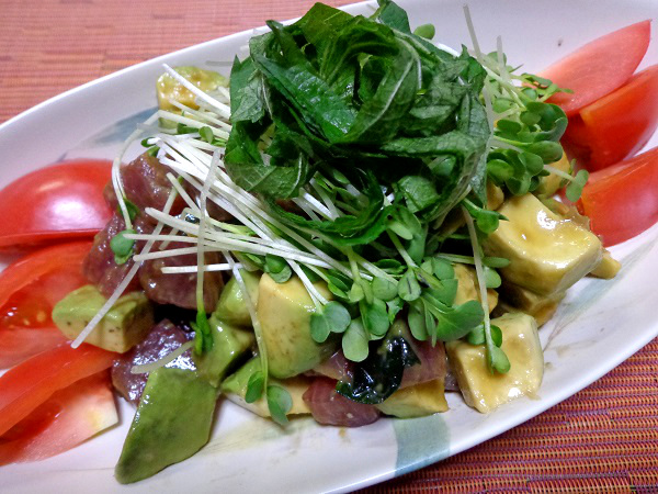 ハワイ料理 ポキ01