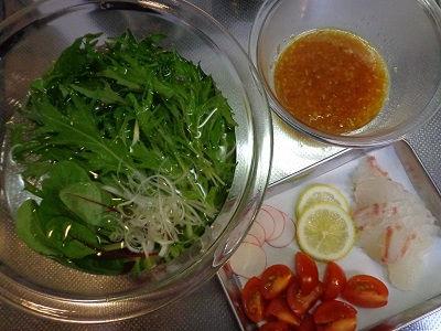 鯛のカルパッチョ 涼感サラダ仕立て02