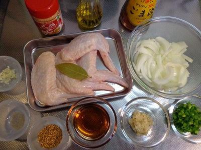 鶏の手羽先 生姜スープ02