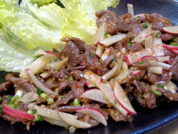 鶏砂肝焼き マヨネーズ風味01