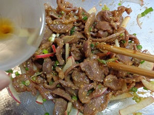 鶏砂肝焼き マヨネーズ風味08