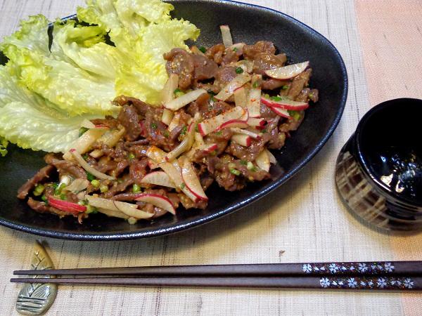 鶏砂肝焼き マヨネーズ風味09