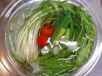 水菜サラダ(カシューナッツ入り)05