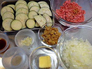 茄子と挽肉のトマトクリームパスタ02