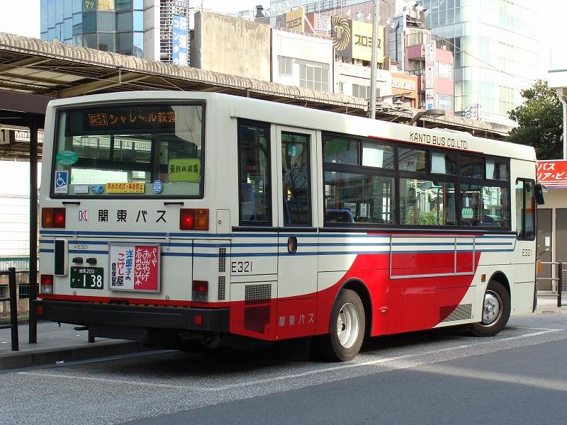 ちなみに関東バス初のLED搭載車 ...
