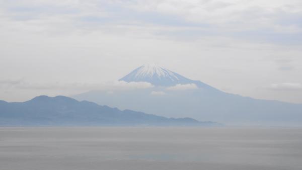 駿河湾の富士山