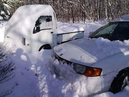 H24.12.29降雪自動車