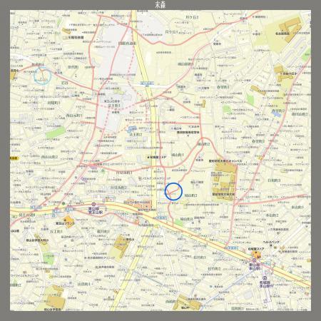 末森-階段1 地図