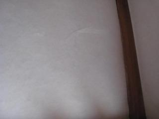 繊維壁に和紙3