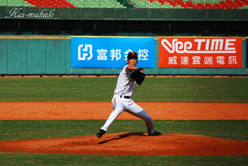 松本(竜)@台中洲際棒球場