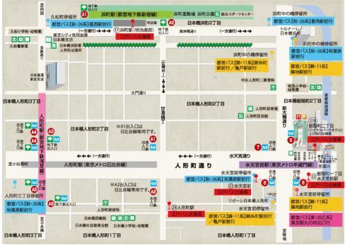 人形町map