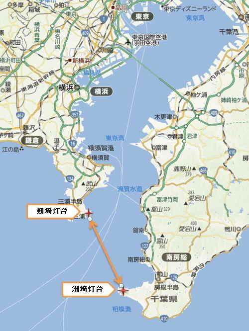 東京湾境界線