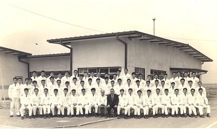 1964年4月入社式S