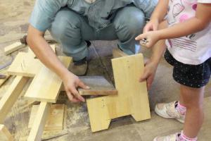 保川建設木工教室