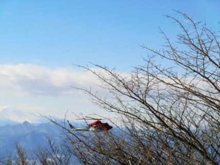 鍋割で栃木県のヘリ