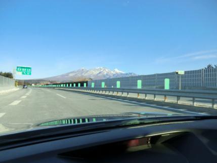 中央道から八ヶ岳
