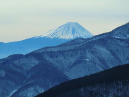ゴンドラから富士山