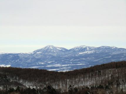 蓼科山と北横岳