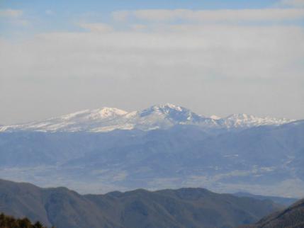 四阿山と根子岳