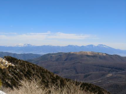 浅間山から四阿山、根子岳まで