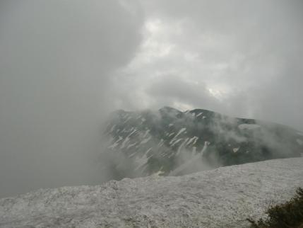 袴岳、青雲岳