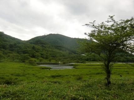 覚満渕から地蔵岳