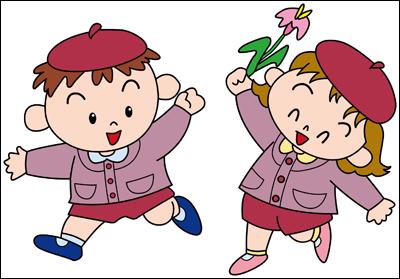 幼稚園発表会DVDジャケット用のイラスト
