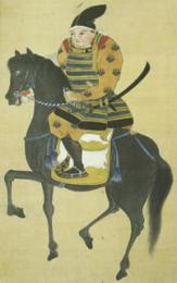 益田右衛門介肖像(須佐歴史民俗資料館蔵)