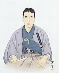 高杉晋作肖像(山口県立山口博物館所蔵)