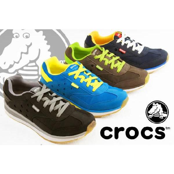 crocs レトロスニーカー