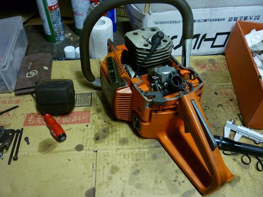 シリンダー排気ポート研磨と254 002-1