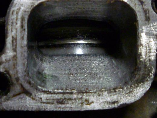 シリンダー排気ポート研磨と254 001-1