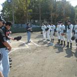 ジェイック野球倶楽部戦挨拶2