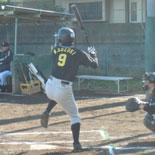 2本の二塁打を放った鎌田