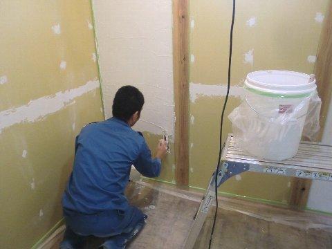 セルフ施工塗り壁
